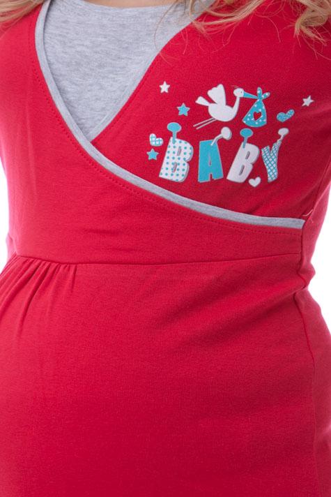 Kojící a těhotenská noční košile
