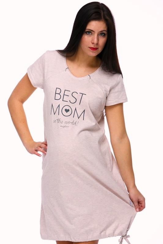 Noční košilka na kojení