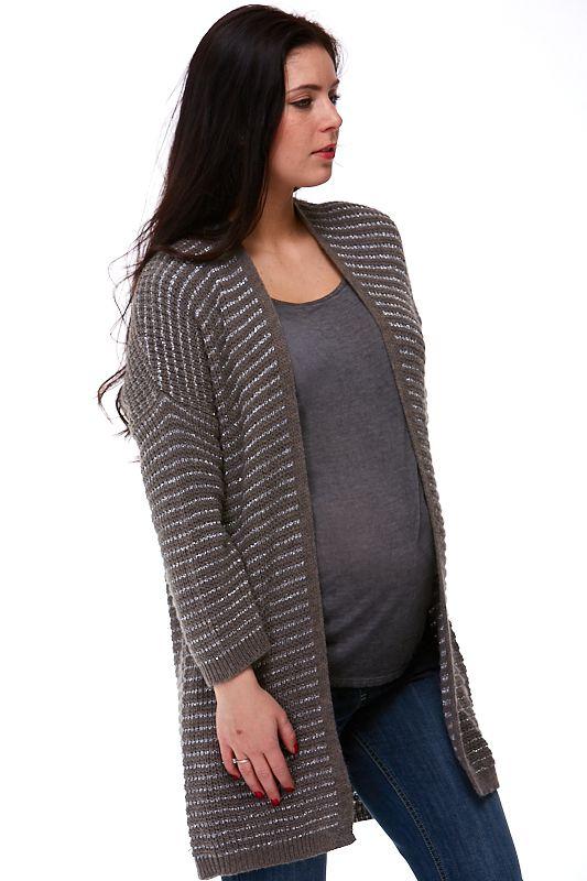 Těhotenský Kardigan made in Italy Alessandra 1A0488 - Těhotné.cz 038dabc56e