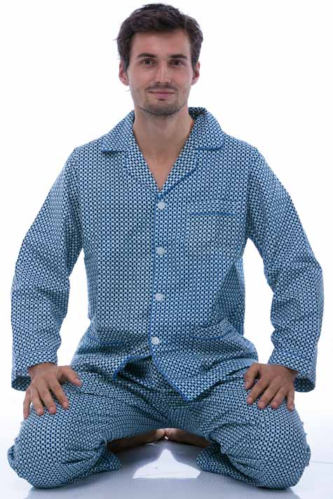 Pyžamo teplé pro muže
