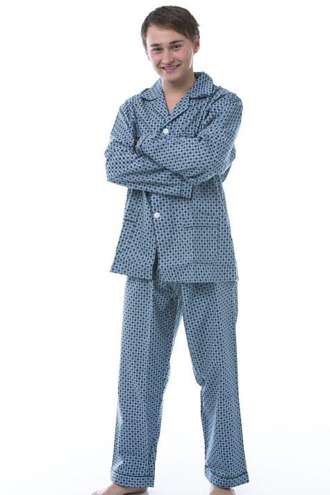 Pyžamo pro muže, flanel 1P0435