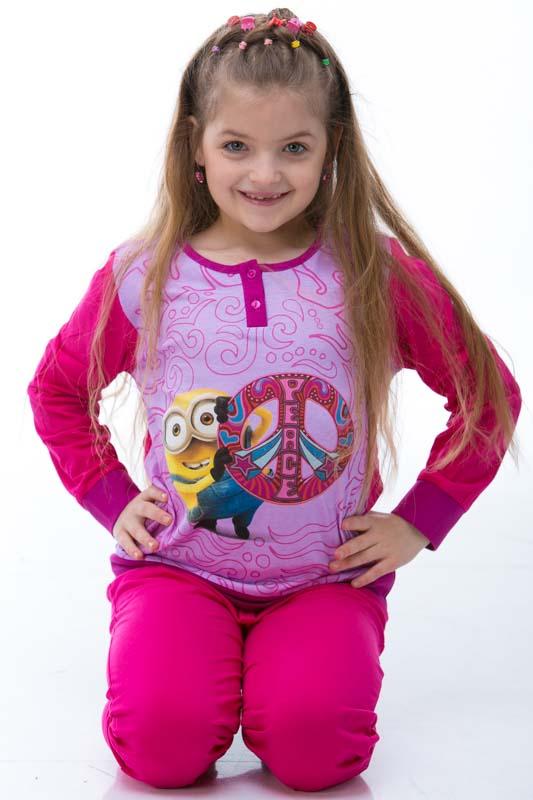 Dívčí pyžamo  1F0338