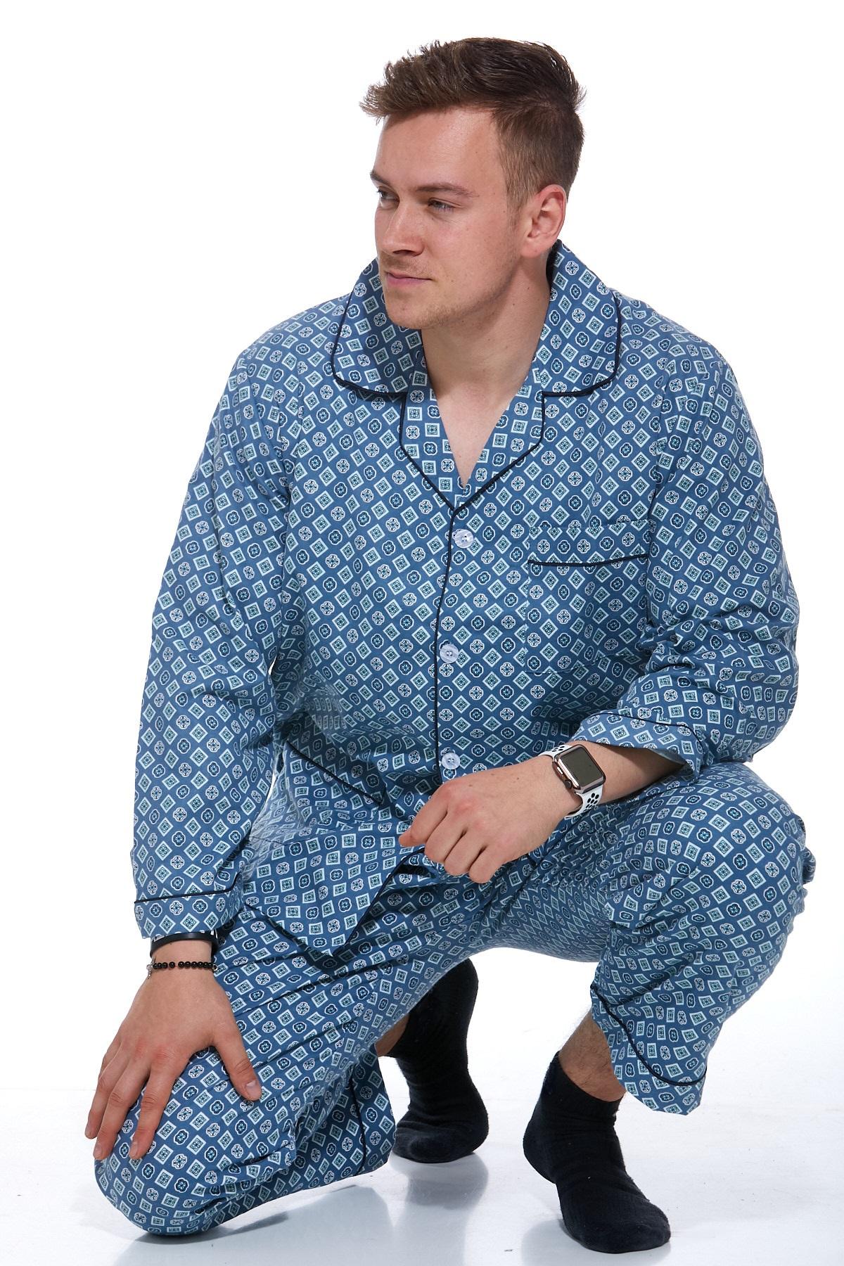 Pánské pyžamo flanel