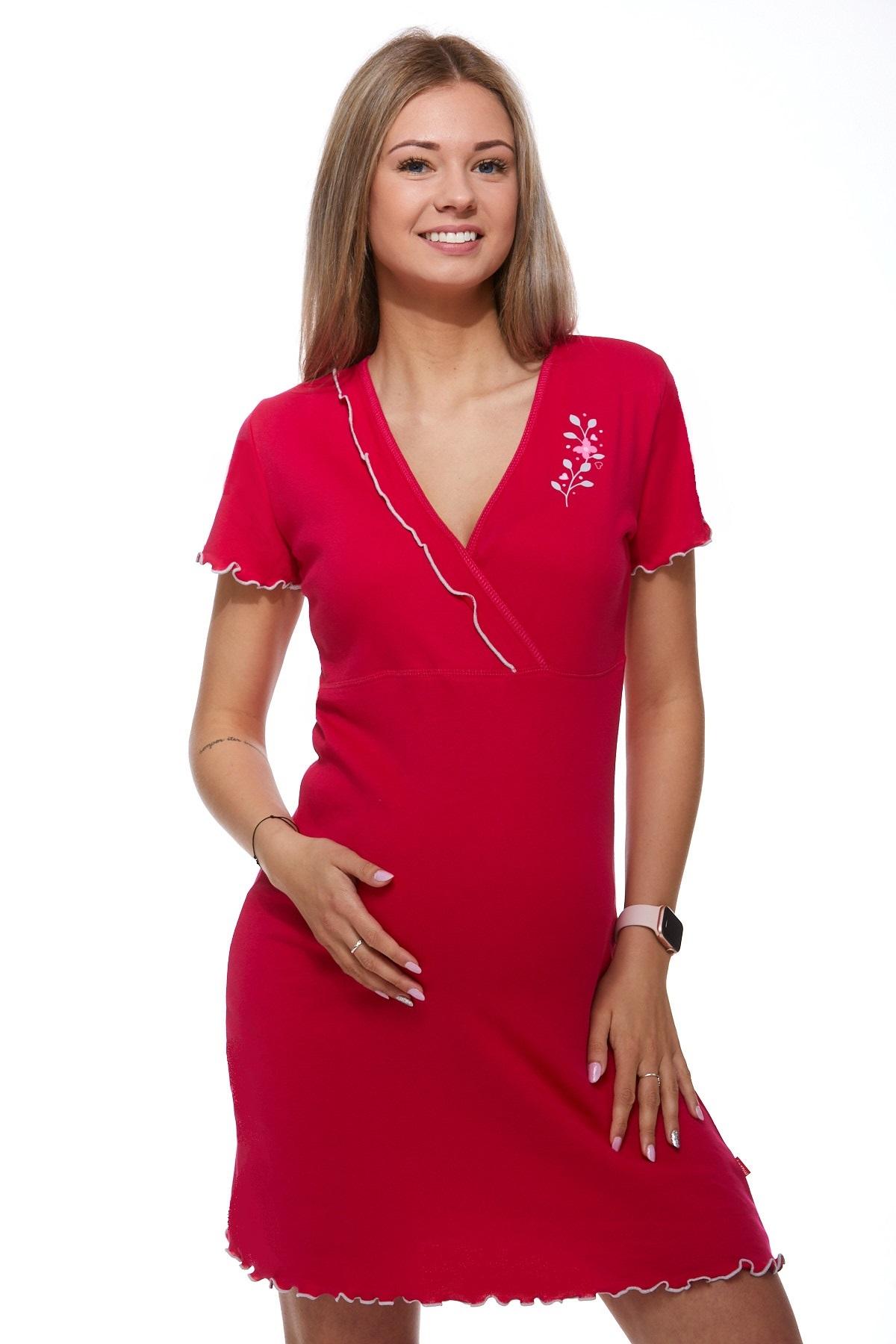 Těhotenská a kojící košilka