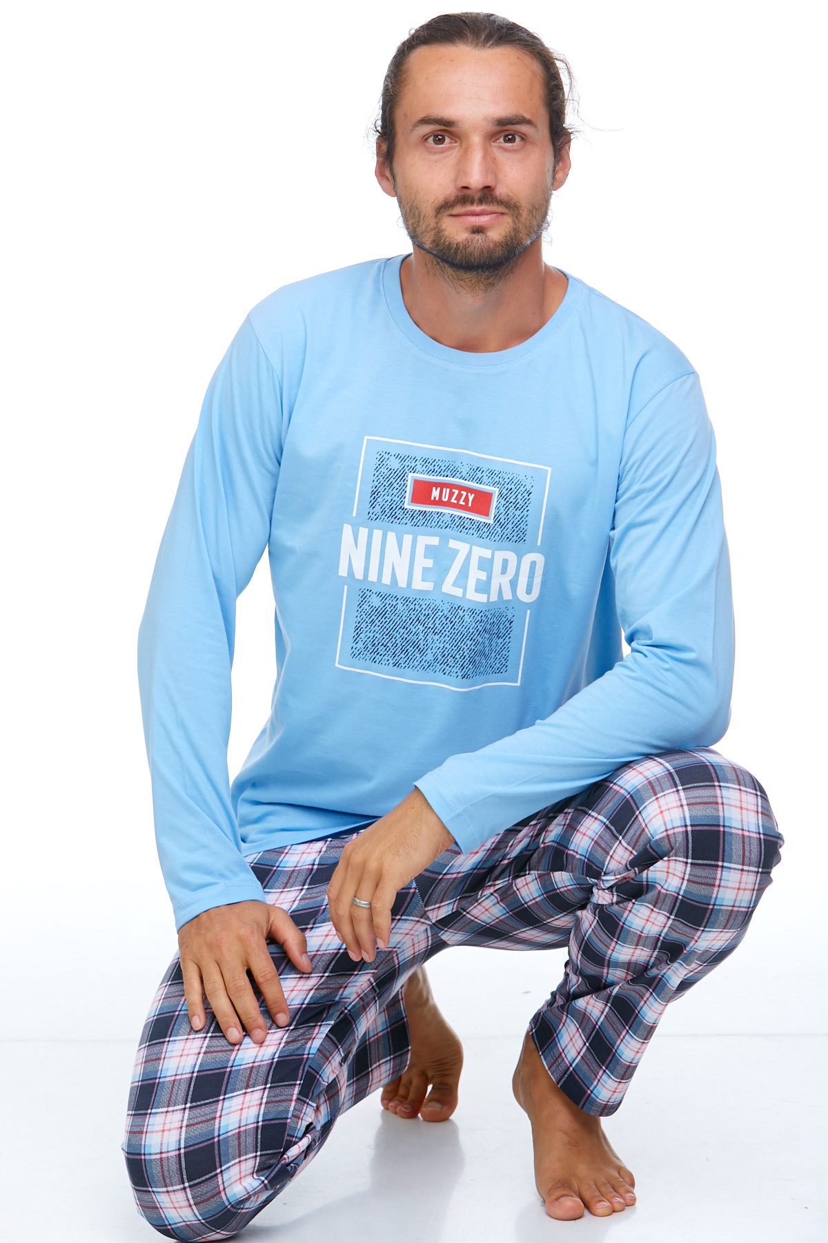 Pyžamo pro muže luxusní