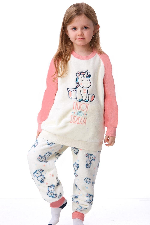 Dívčí pyžamo extra teplé