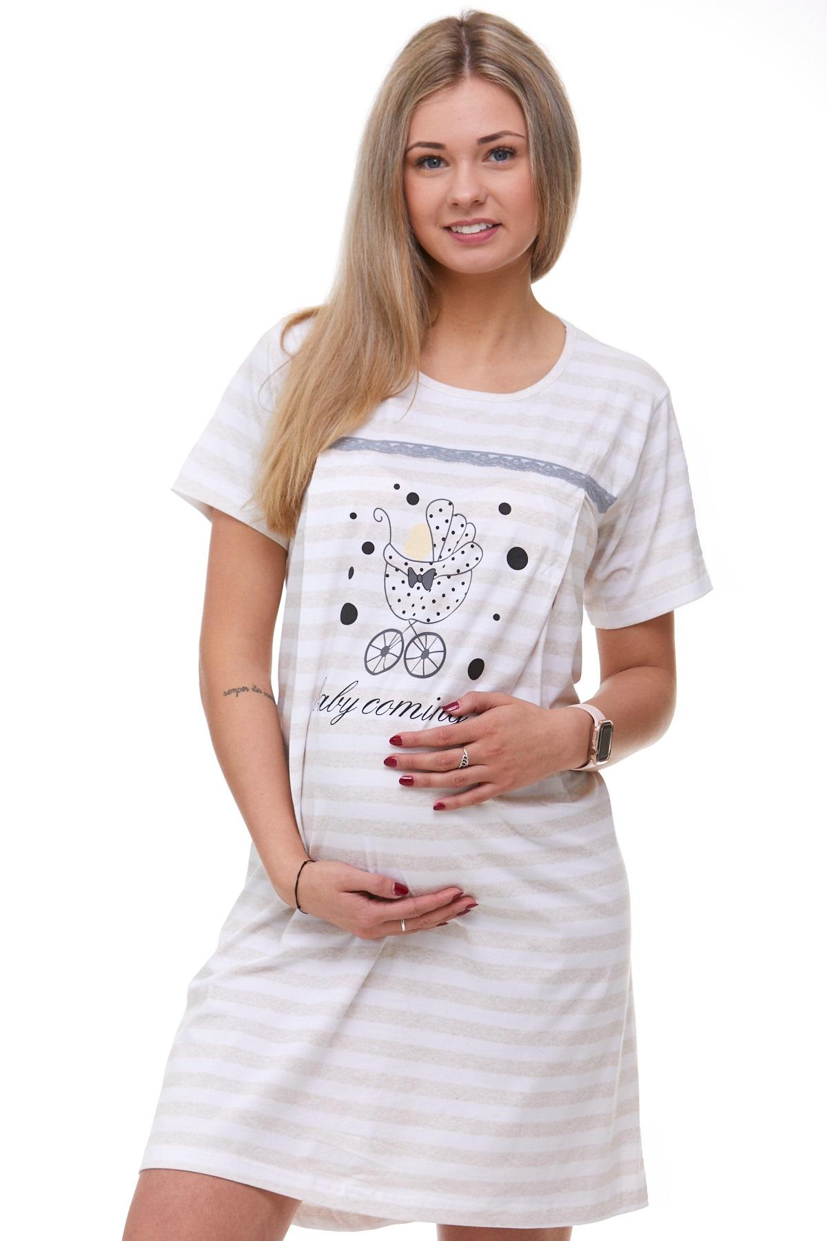 Kojící i těhotenská košilka