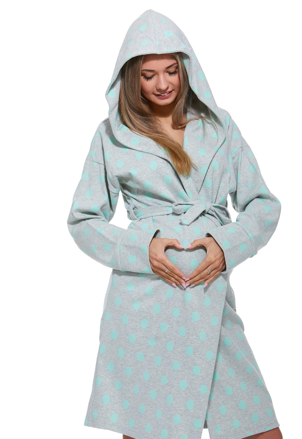 Kojící župan do porodnice