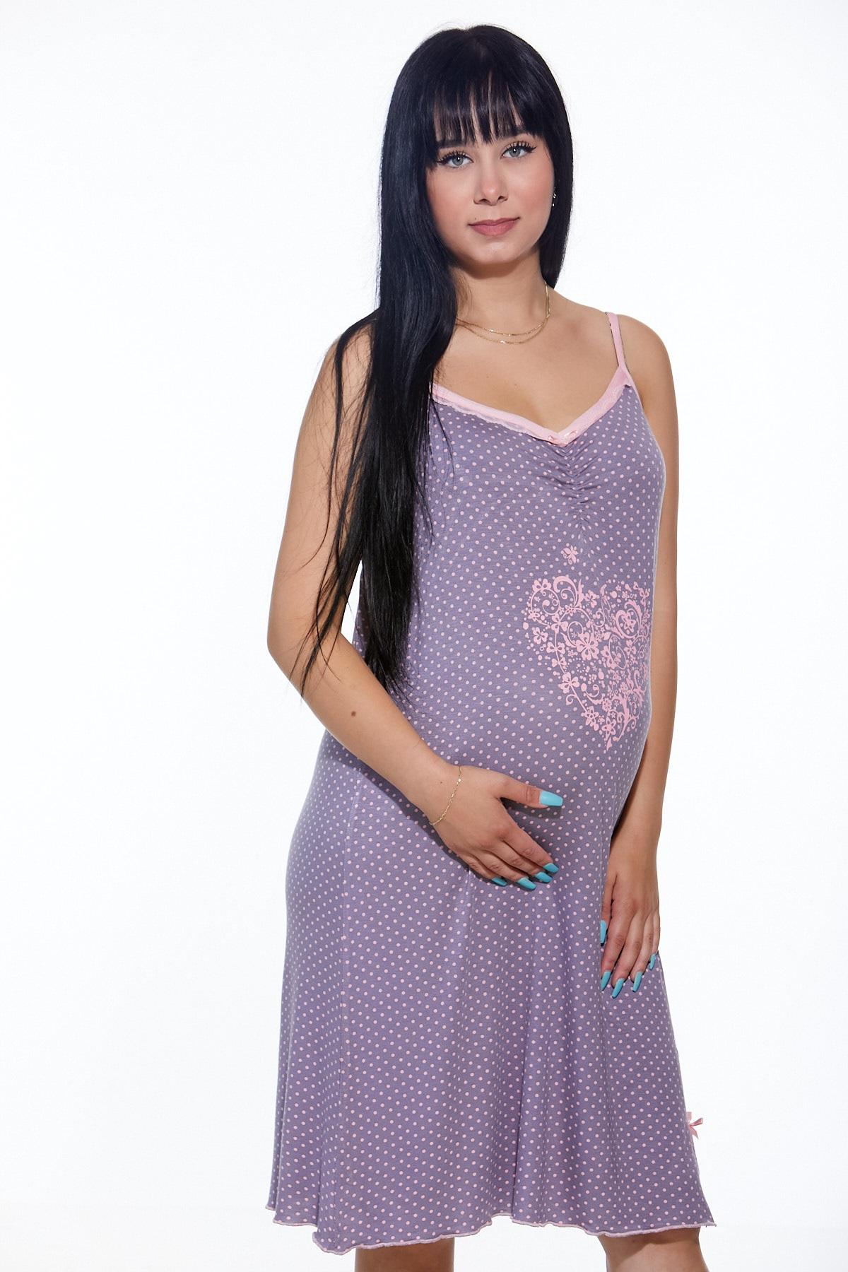 Těhotenská i kojící košilka jemná