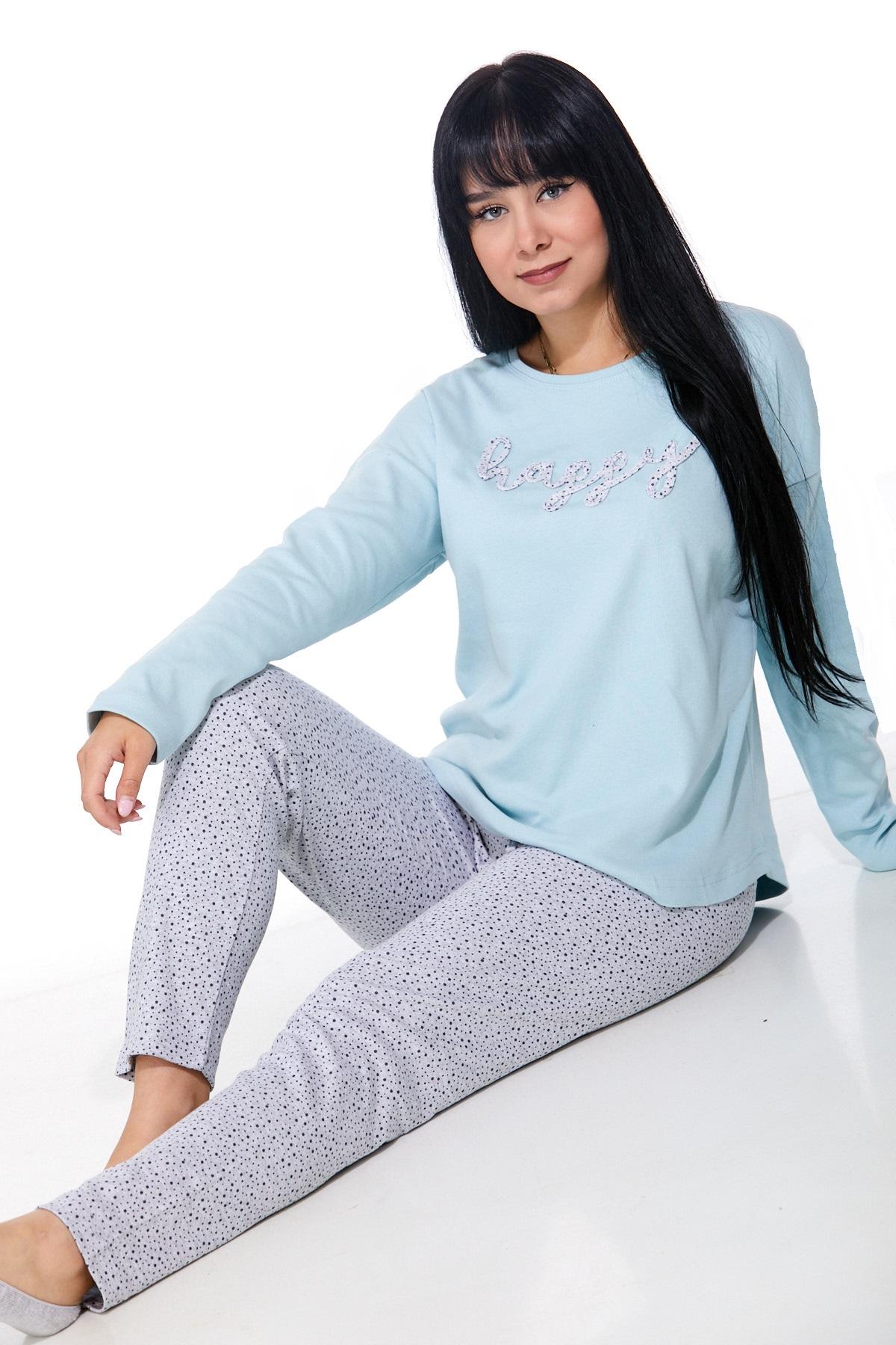 Dámské pyžamo comfort teplé