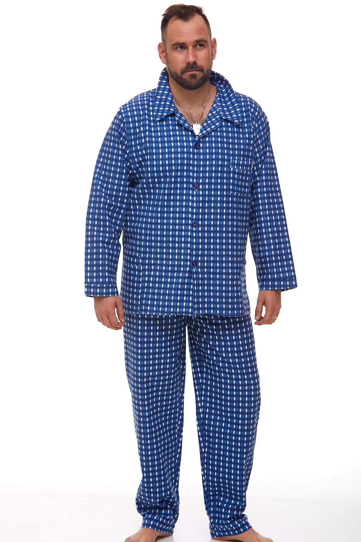 Pánské pyžamo teplé