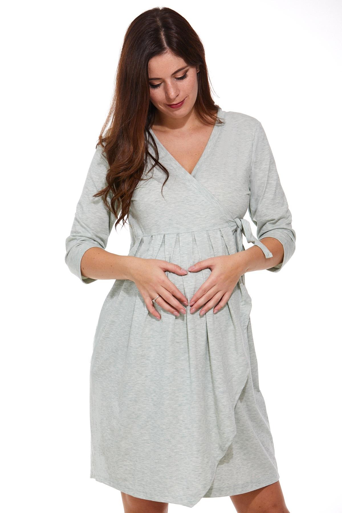 Zavinovací košilka i župan pro těhotné i kojící