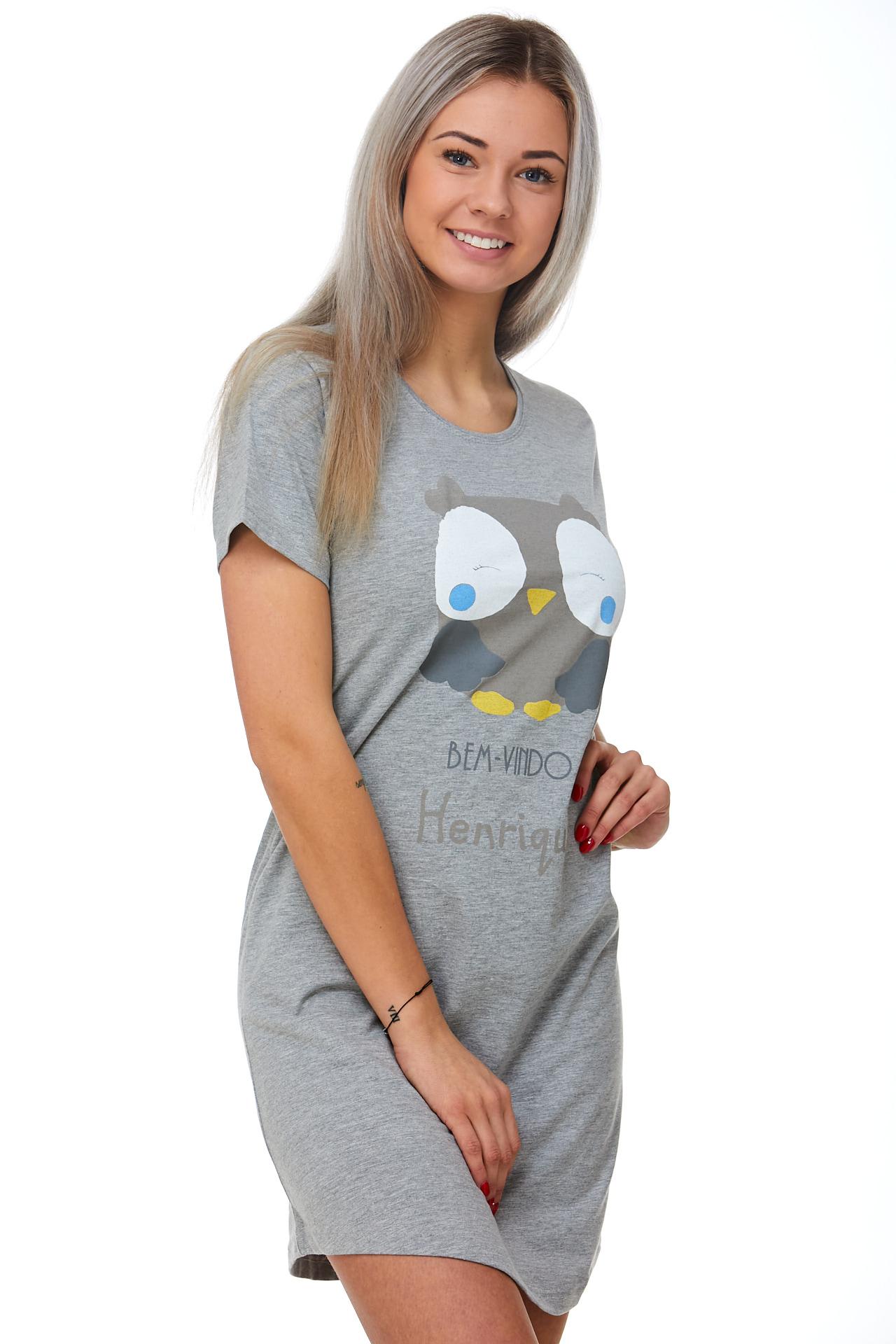 Noční košilka jemná Sovička