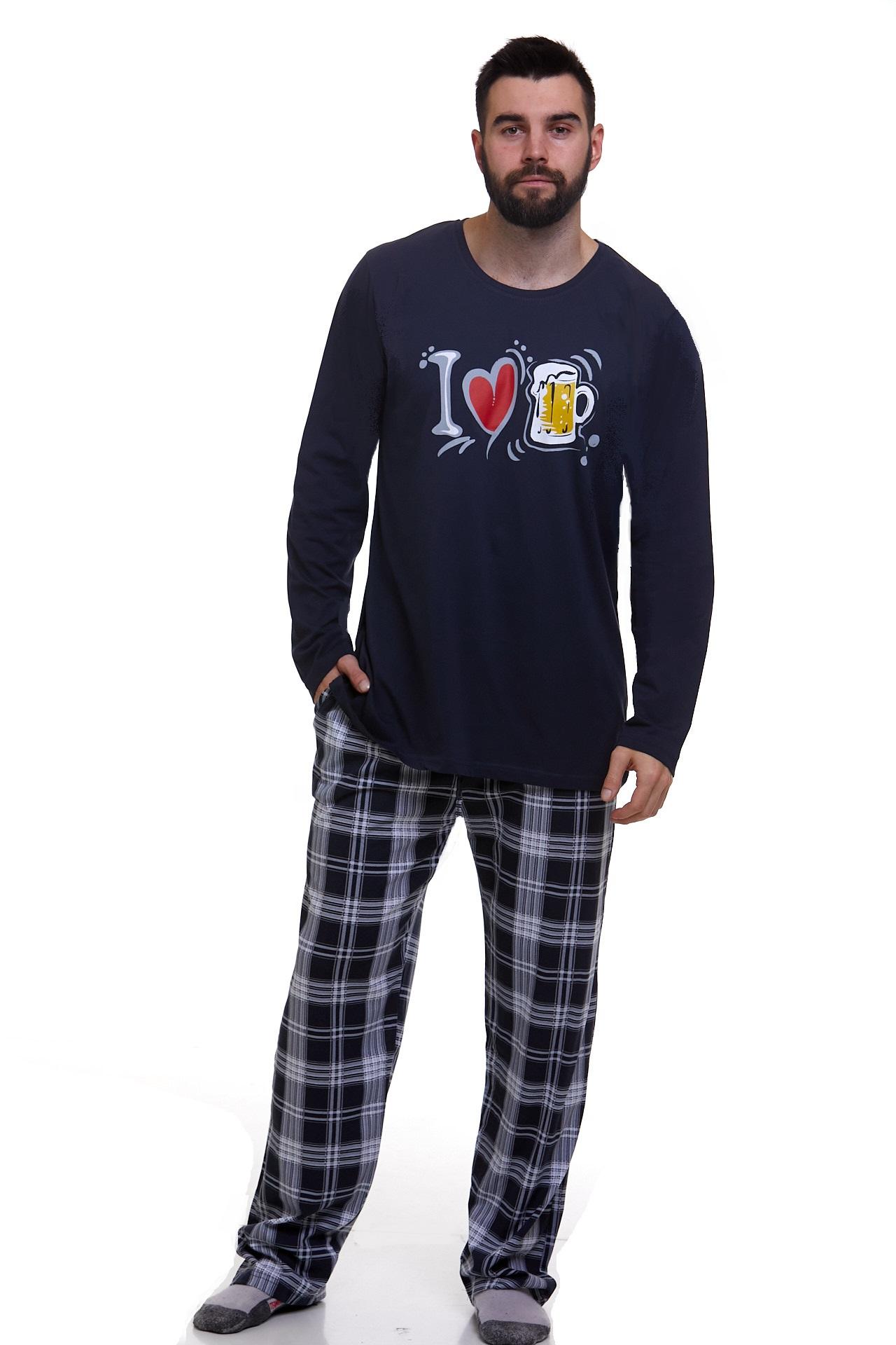 Pyžamo pro muže luxusní Pivo