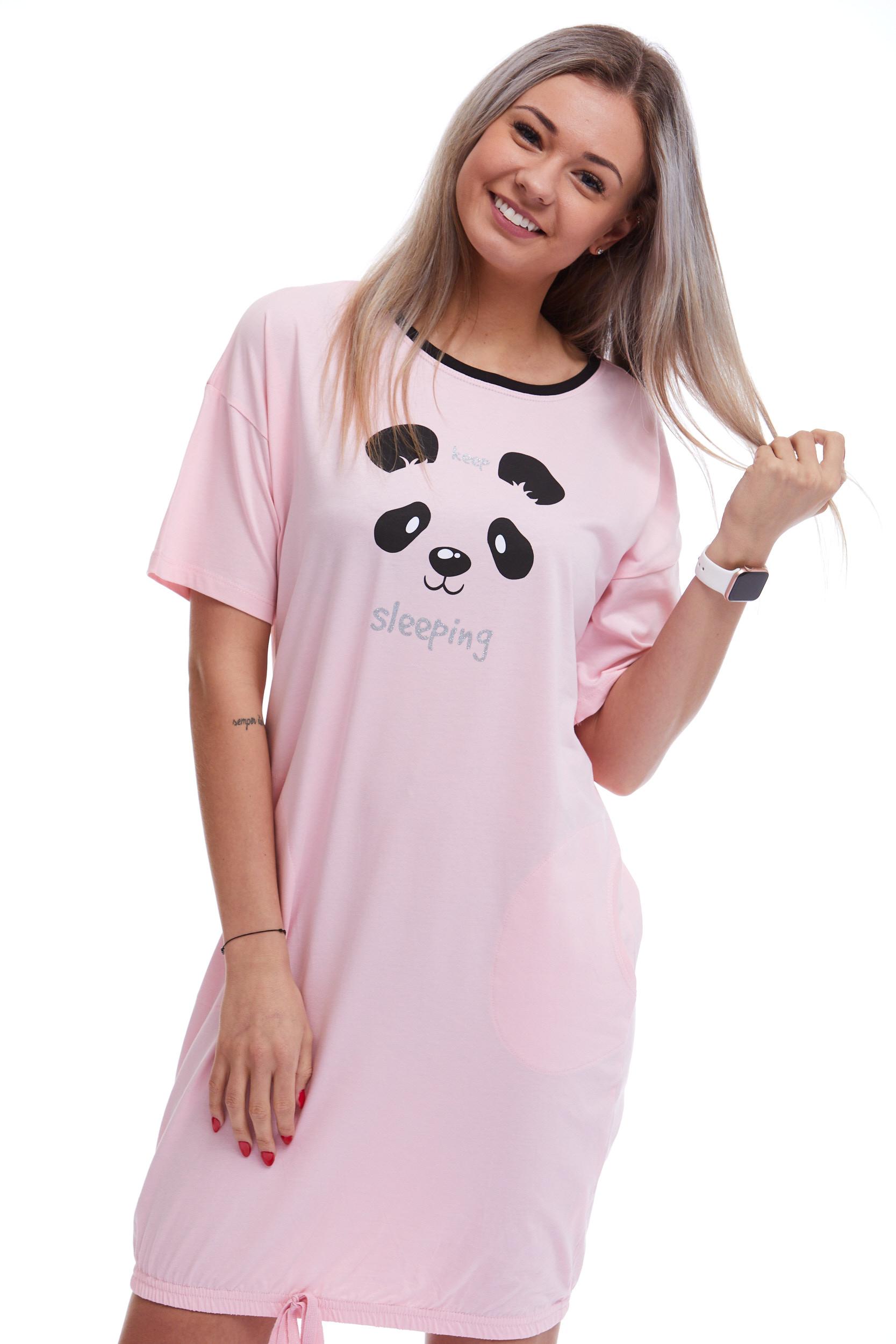 Košilka na spaní pro ženy či dívky Panda