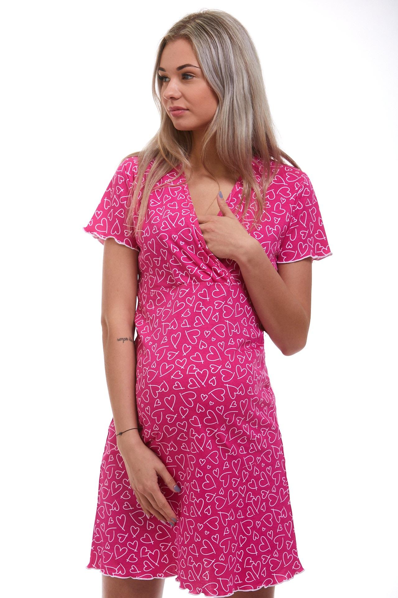 Těhotenská i kojící luxusní košilka