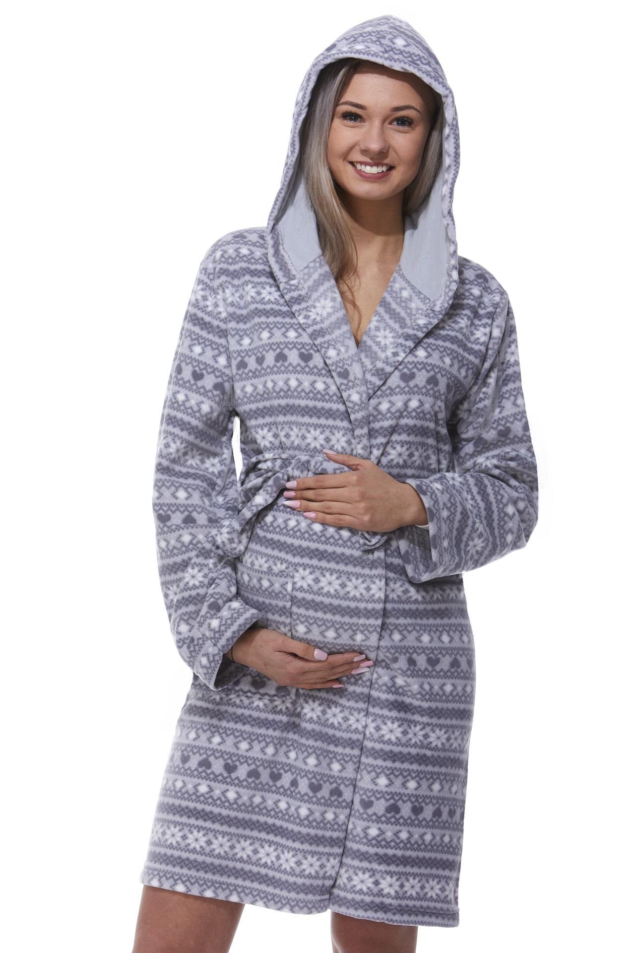 Těhotenský župan na kojení