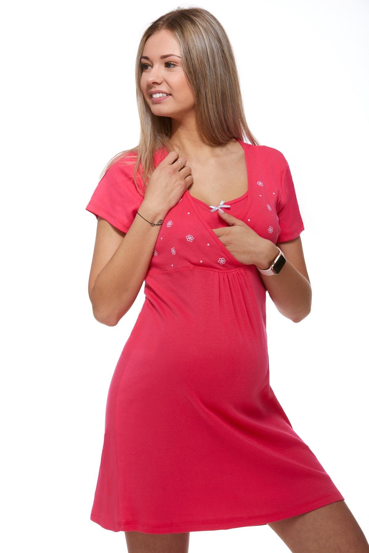 Noční košile kojící a těhotenská 1C0072