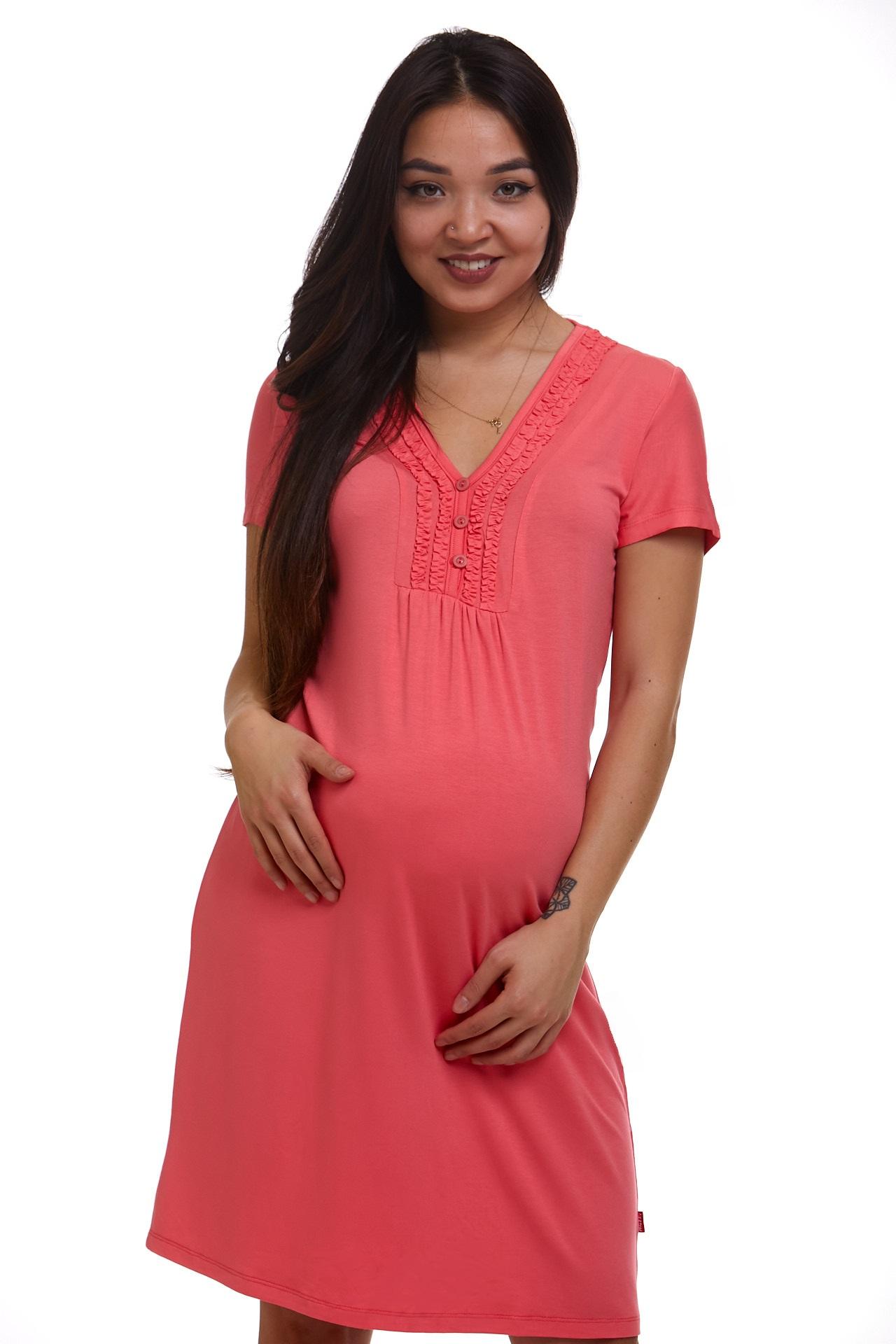 Noční košile těhotenská a na kojení NKB075