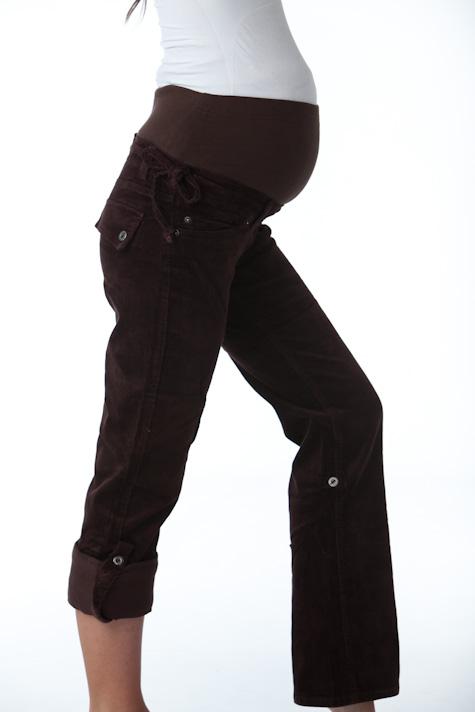 Manšestrové kalhoty teplé 1S0385