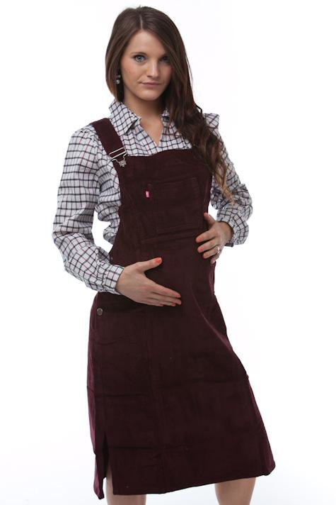 Těhotenské šaty, laclové 1S0300