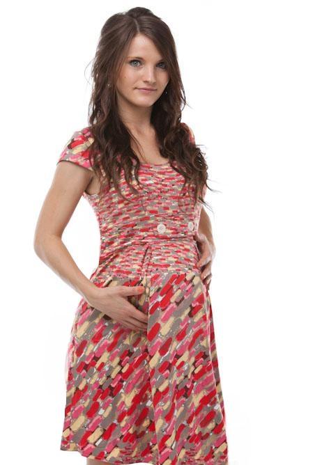 Těhotenské šaty 1S0353