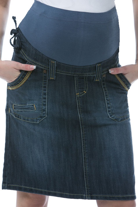 Sukně pro těhotné riflová 1S1024