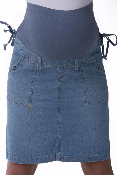 Sukně pro těhotné riflová 1S0199