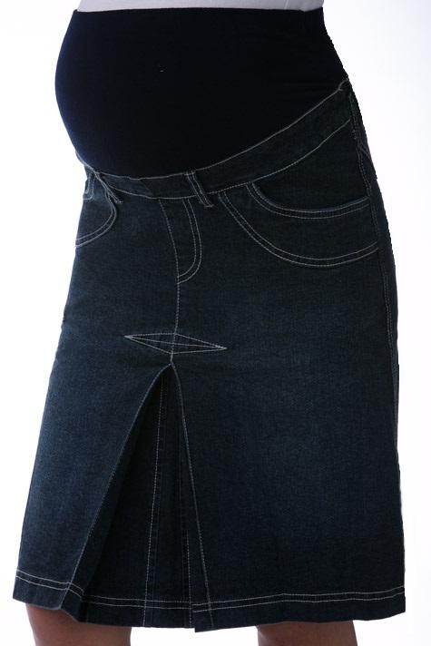 Sukně pro těhotné riflová 1S0194