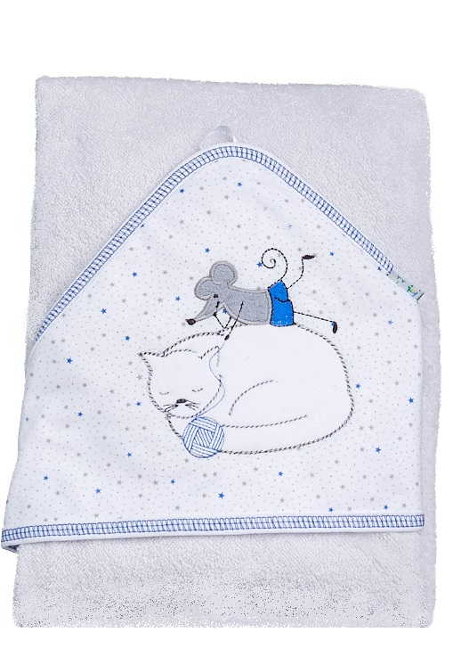 Froté ručník s kapucí 1R0021