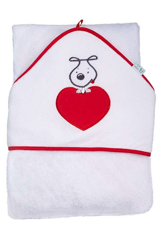 Froté ručník s kapucí 1R0005