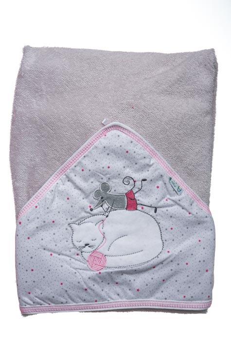 Froté ručník s kapucí 1R0008
