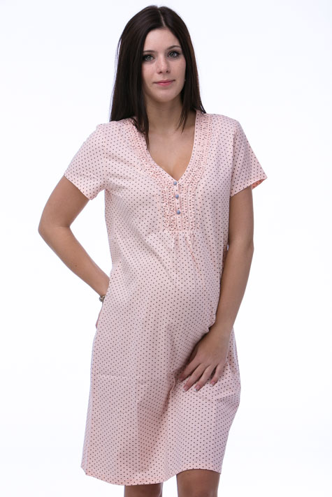 Noční košile kojící a těhotenská 1C0121
