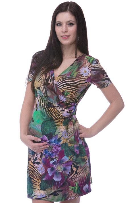 Těhotenské i kojící šaty 1A0284