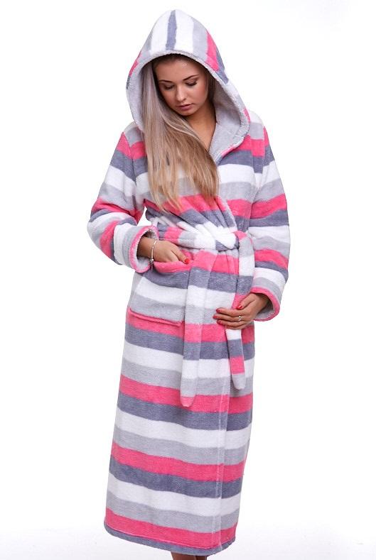 Těhotenský župan huňatý 1Z0853