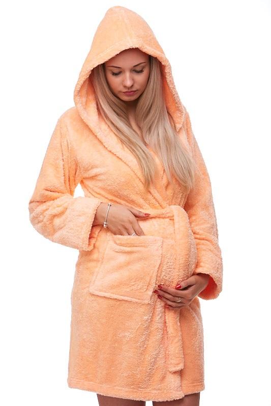 Těhotenský župan huňatý 1Z0814