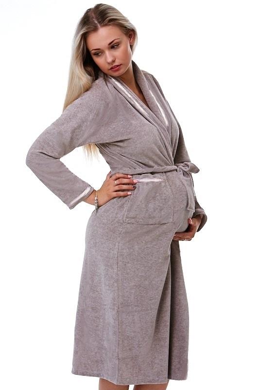 Dámský župan pro těhotné 1G0027