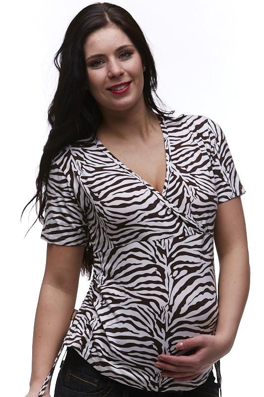 Kojící a těhotenské tričko 1A0422