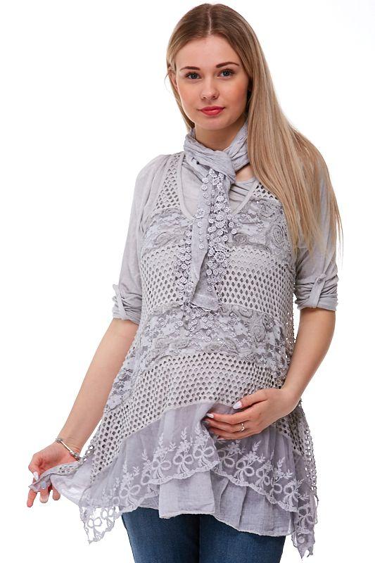 Těhotenská tunika Made in Italy Camilla