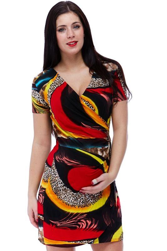Těhotenské a kojící šaty Esenciss 1S1122