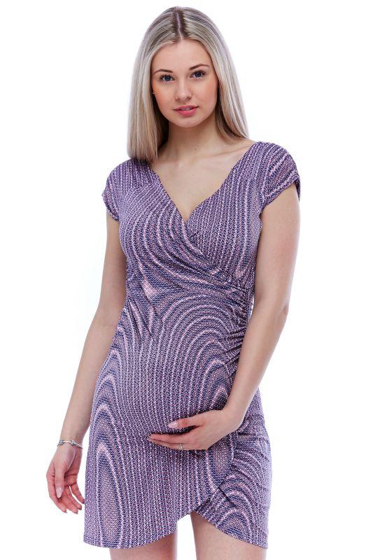 Těhotenské a kojící šaty 1S1139