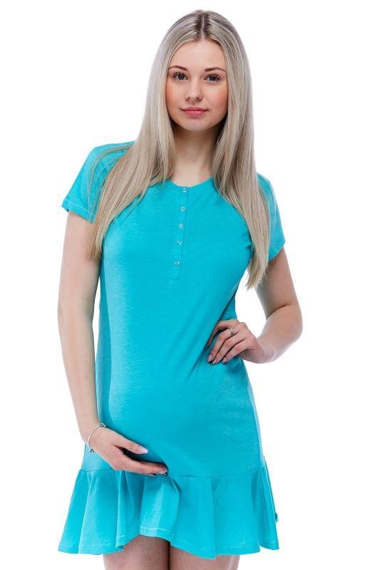 Těhotenská i kojící košilka