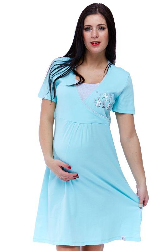 Těhotenská košilka pro diskrétní kojení