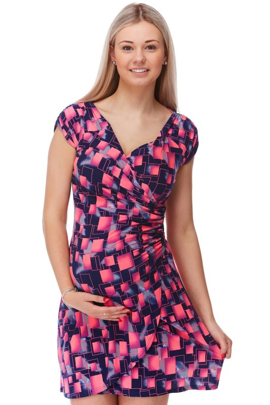 Těhotenské šaty 1S1162