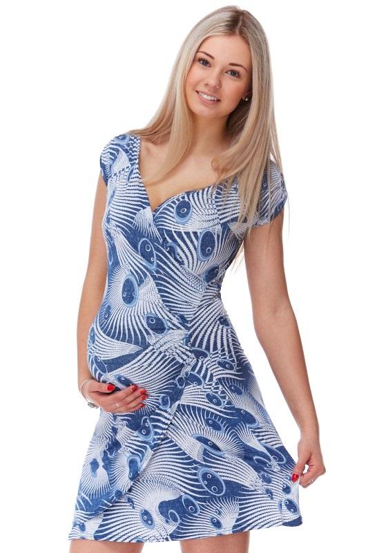 Těhotenské šaty 1S1164