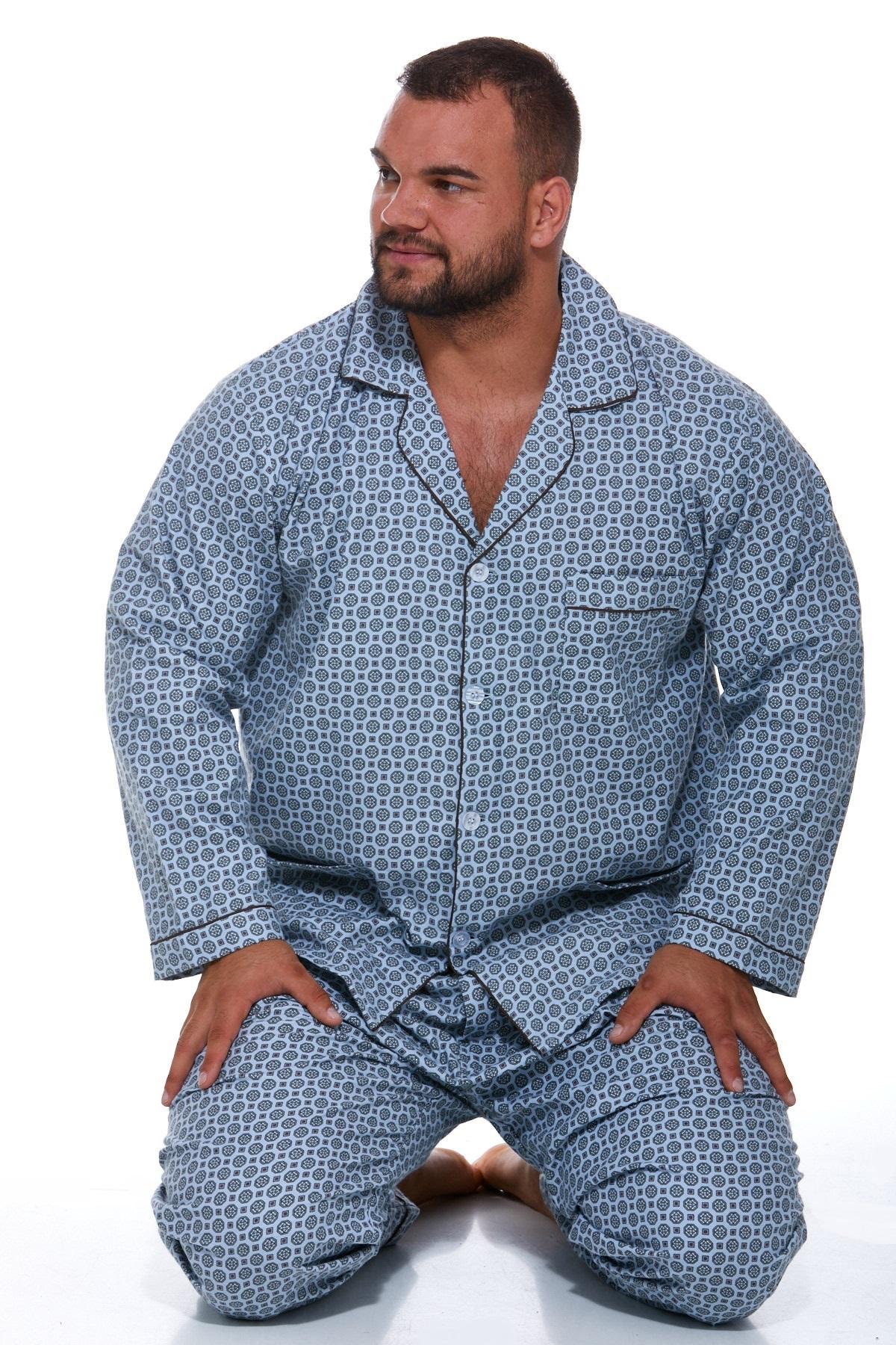 Pánské pyžamo, flanel PAPM067