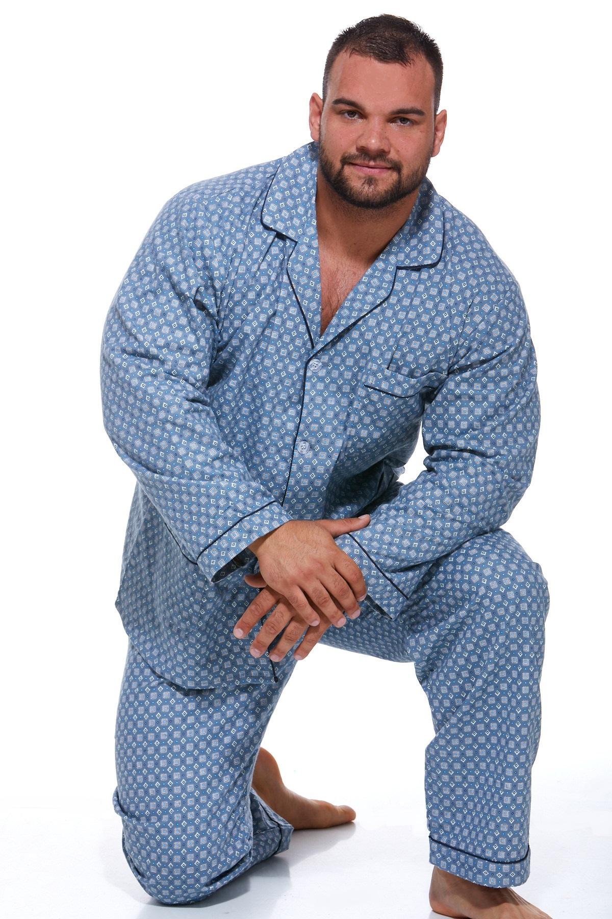 Pánské pyžamo, flanel PAPM029