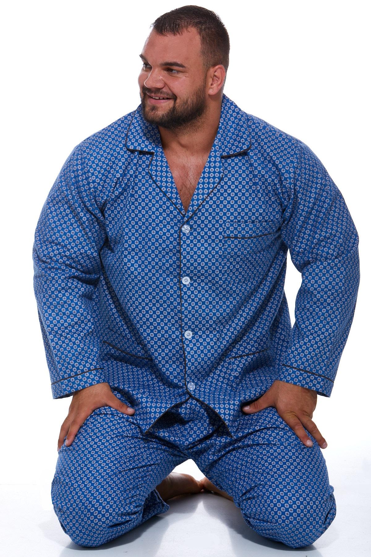 Pánské pyžamo, flanel PAPM026