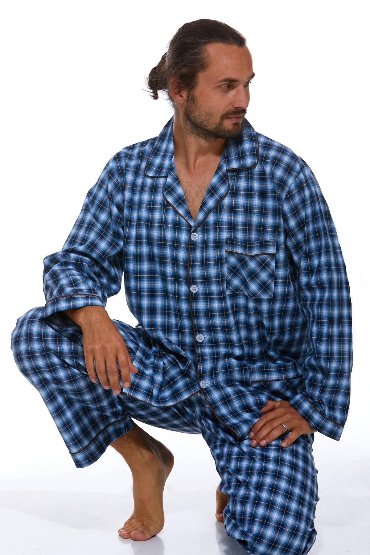 Pánské pyžamo, klasické PAPM261
