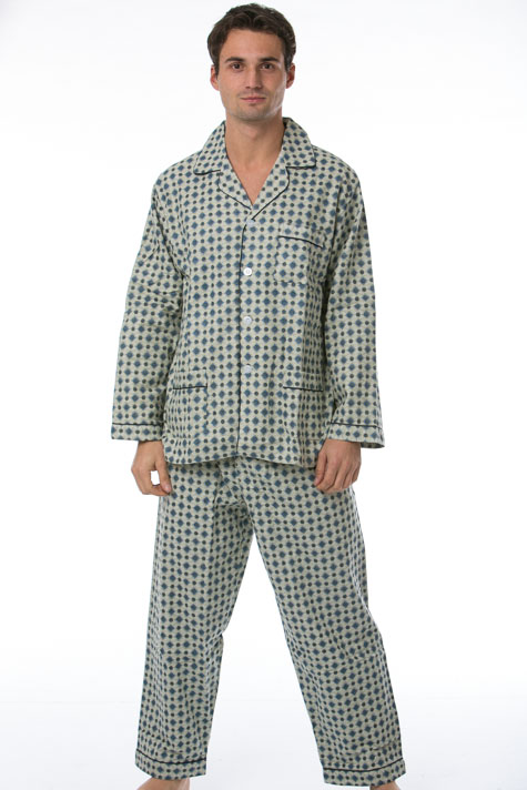 Pánské pyžamo, flanel 1P0478